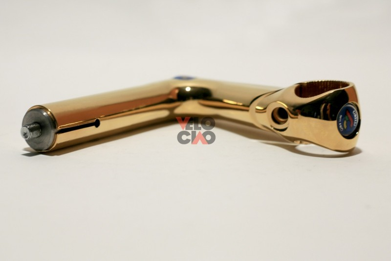 ICS Cinelli XA NOS NIB gold-plated 110mm / 26.4mm