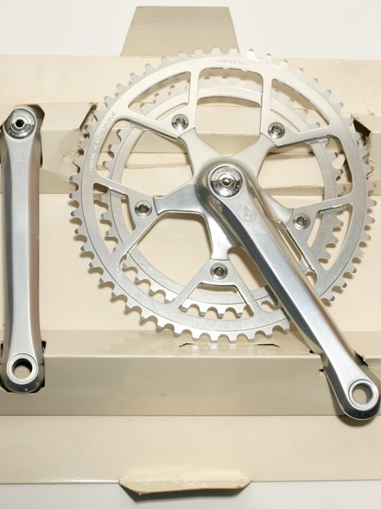 Campagnolo Triomphe group, crank
