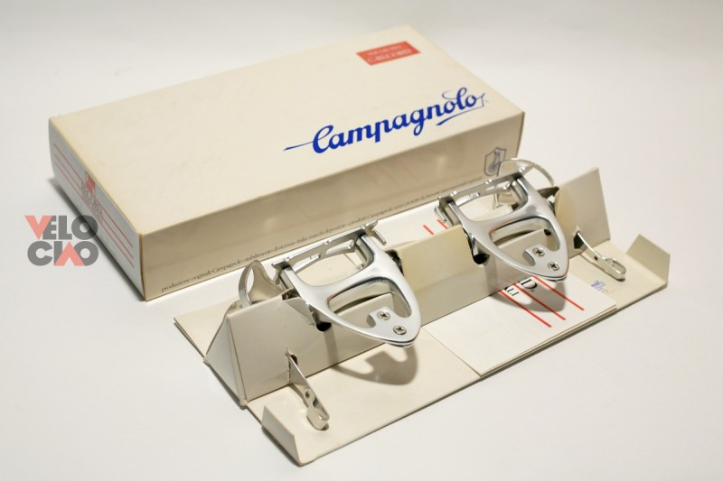 Campagnolo C-Record 1st gen. road pedal set
