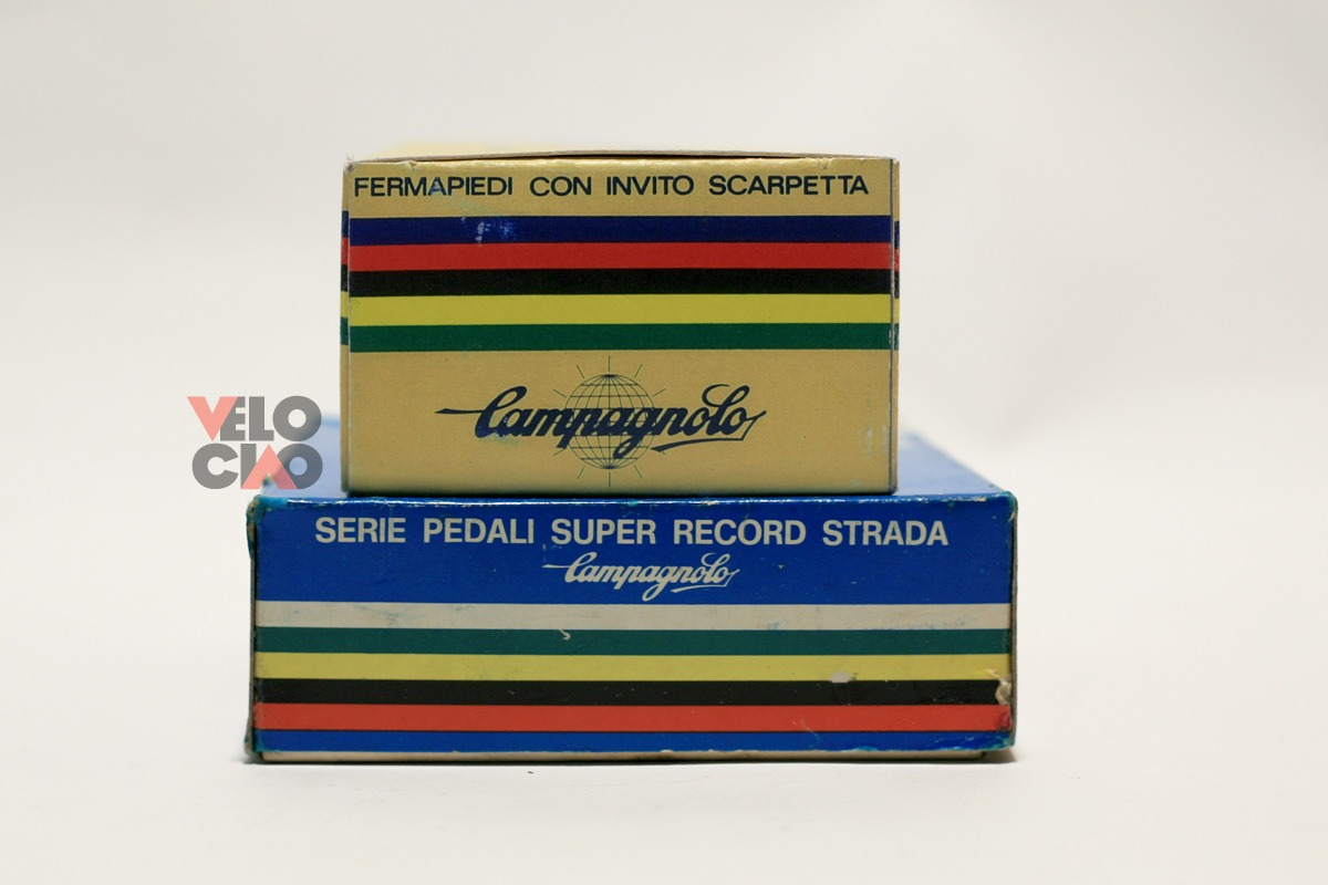 Campagnolo 50th anniversary. road pedal set