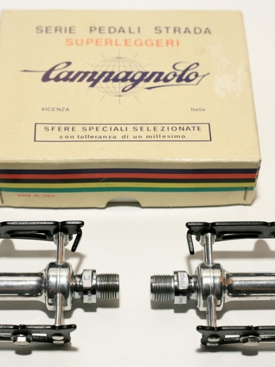 Campagnolo Super Record road pedal set