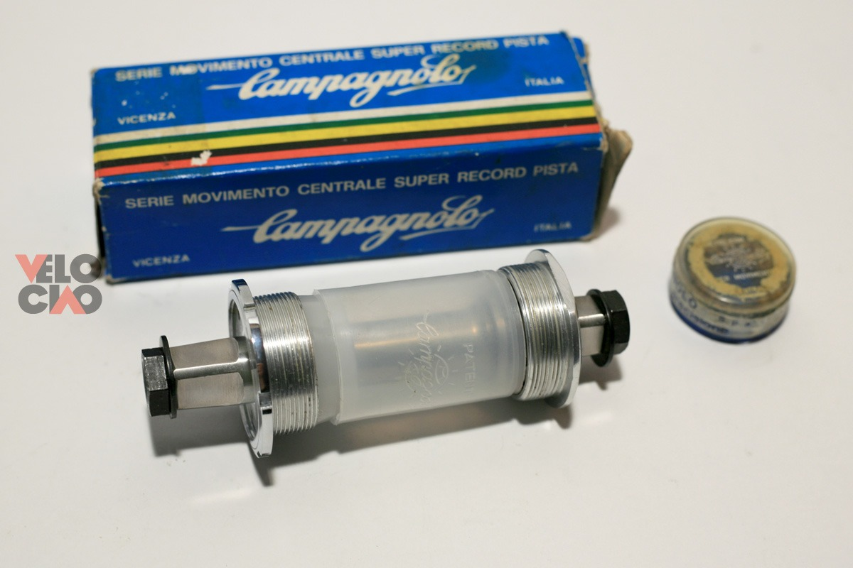 Campagnolo Super Record pista bottom bracket