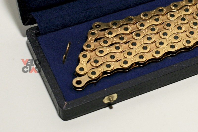 Rohloff S-L-T 99 chain, goldplated