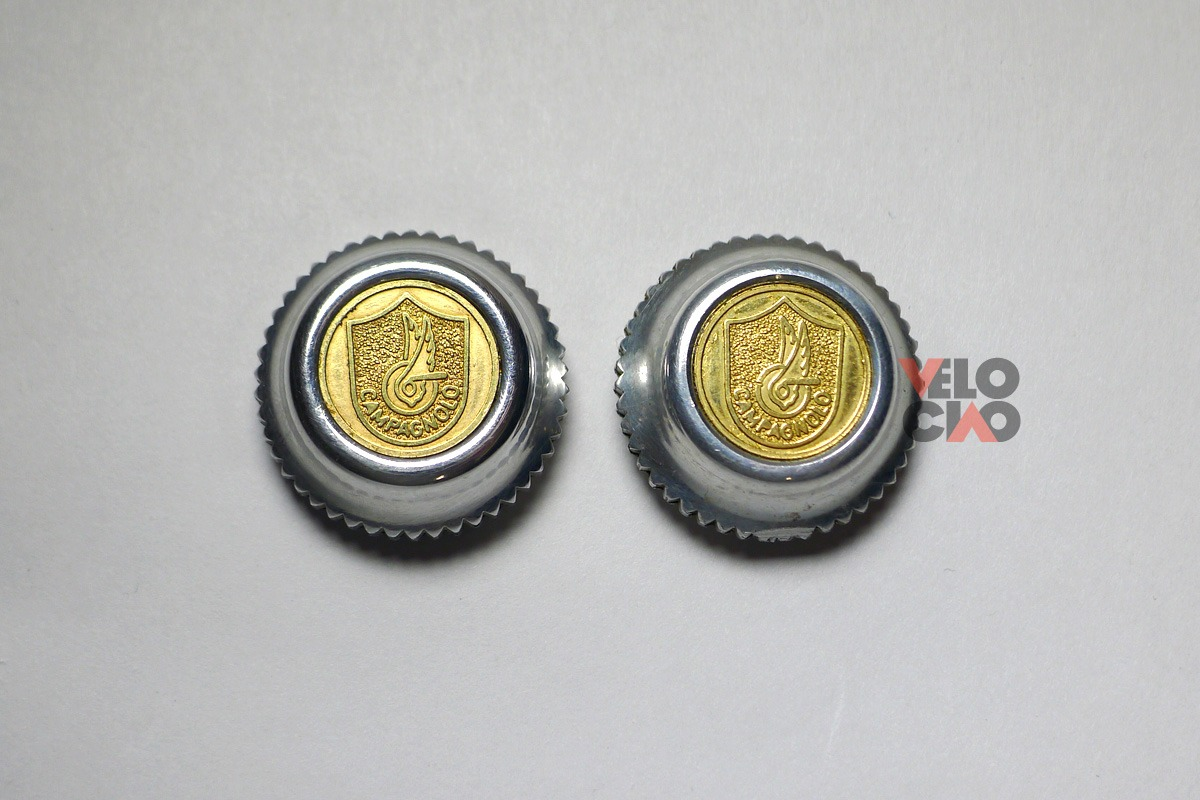 Campagnolo 50th Anniversary pedal dust caps