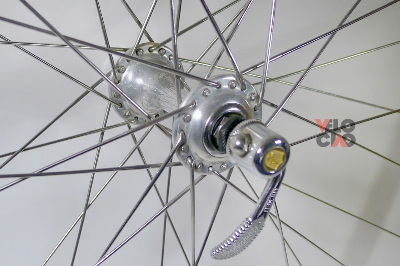 Campagnolo 50th Anniversary group, partitialy used