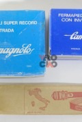 Campagnolo Super Record pedal set with clips and straps